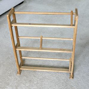 Thrift Store Upcycle – Kid's Bookshelf Makeover