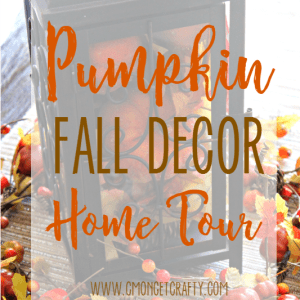 Fall Decor with Pumpkins