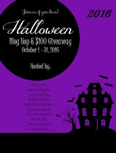 Stop by our Halloween Blog Hop and party with some great bloggers! Maybe win some money!!
