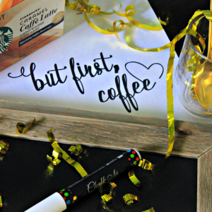 Easy Trace Chalkboard Coffee Sign