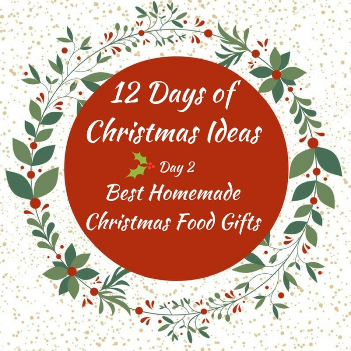 12 Best Homemade Christmas Food Gifts