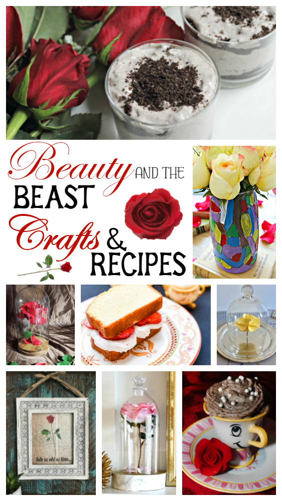 Come see what a group of bloggers can do when inspired by the new Beauty and the Beast movie! #MovieMonday