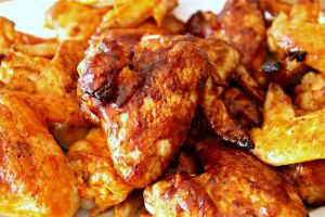 In our house, chicken wings are practically staples. But after so much money spent on ordering out, I had to make my own! These homemade chicken wings aren't terribly fancy, but they are DELICIOUS and have so many flavor options!