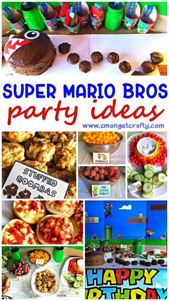 Super Mario Party Ideas And Free Printables C Mon Get Crafty