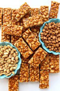 Butterscotch Peanut Butter Bars {MM #182}