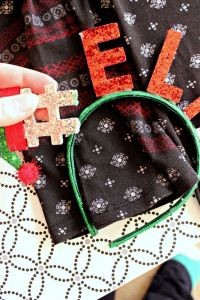 Dollar Store Ugly Christmas Sweater DIY