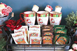 Snowman Hot Cocoa Bar