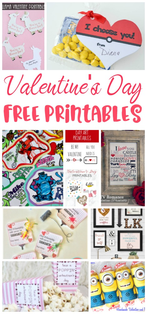 If like me, Valentine's Day sneaks up on you every year, then you should check out these awesome free printables to make Valentine's Day easier!