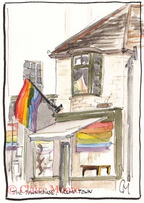 The townhouse, Kemp Town