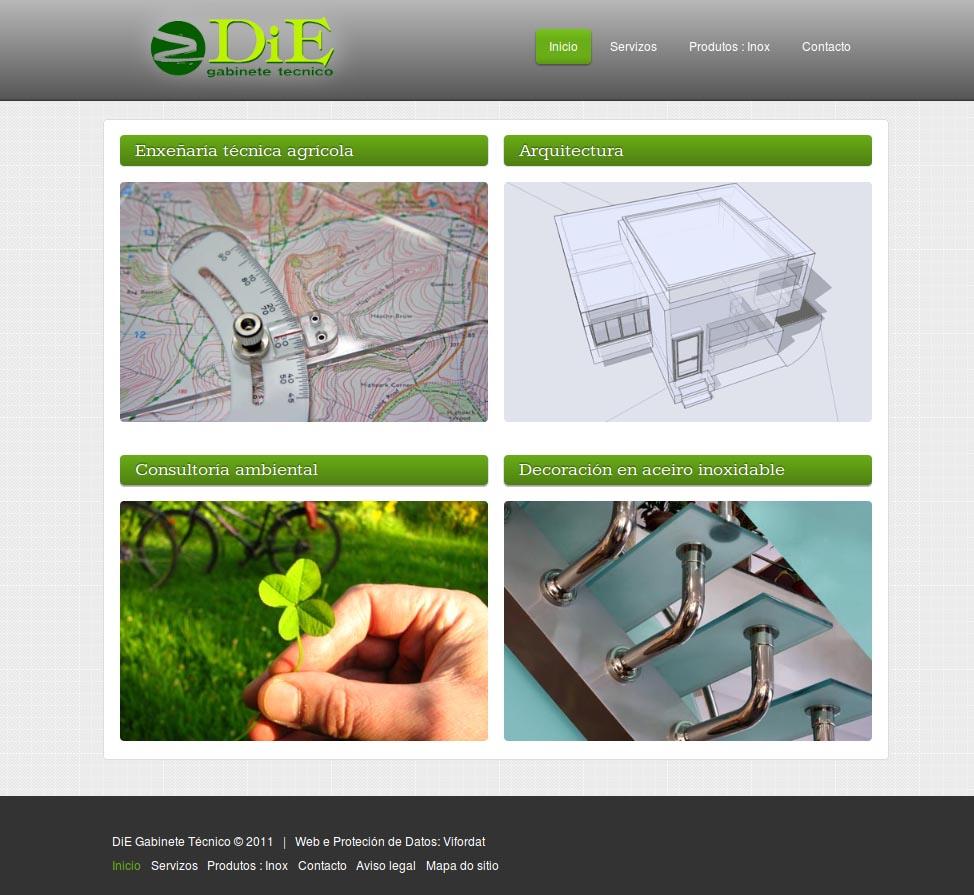 Web de DiE Gabinete Técnico