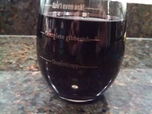 ACES wine glass