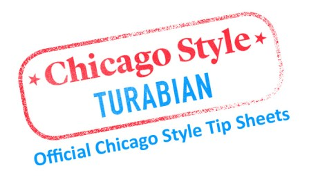 Chicago Style Turabian logo