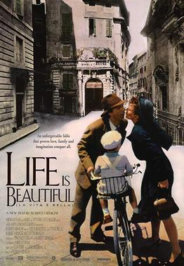 """Movie poster for """"Life Is Beautiful"""""""