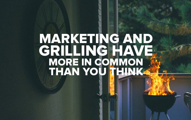marketer's tribute to grilling