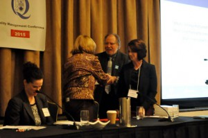 Dr. Noble at the 2015 Laboratory Quality Management Conference