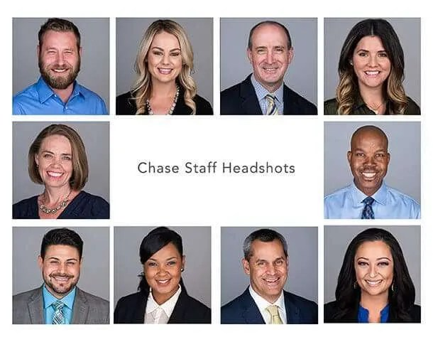 Scottsdale Professional Staff headshots
