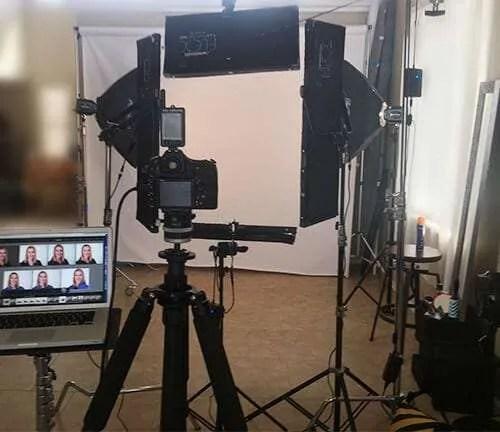 Headshots at CMQ Headshots studio