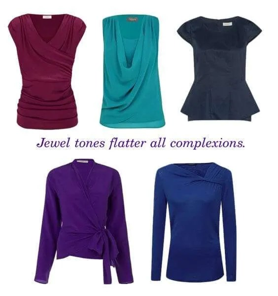 Jew tone tops flatter all skin tones.