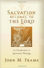 "Frame, ""Salvation belongs to the Lord"" cover"