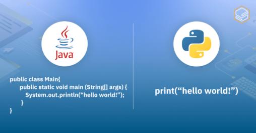 Skooldio blog - Python คืออะไร? | ความต่างระหว่าง Java และ Python