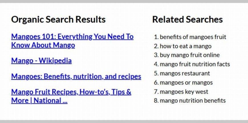 Bing SERP Data Extracted and Formatted