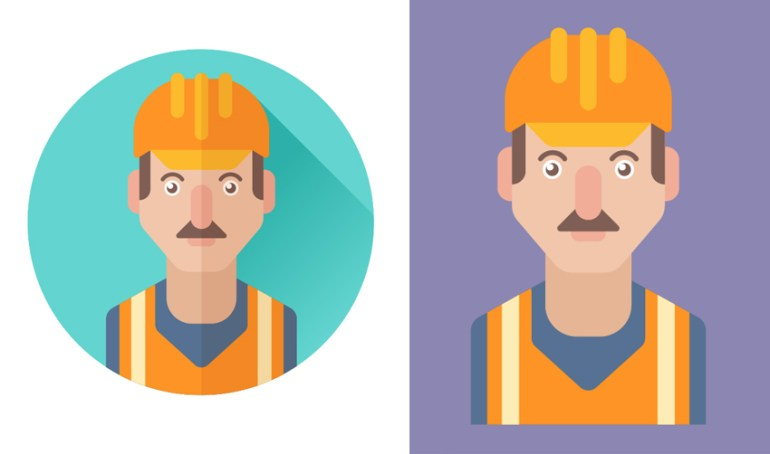 use the worker icon for tranformation