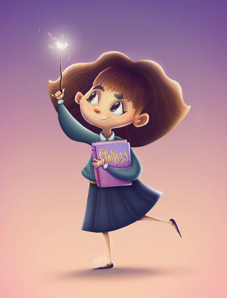 Hermione Granger character fanart