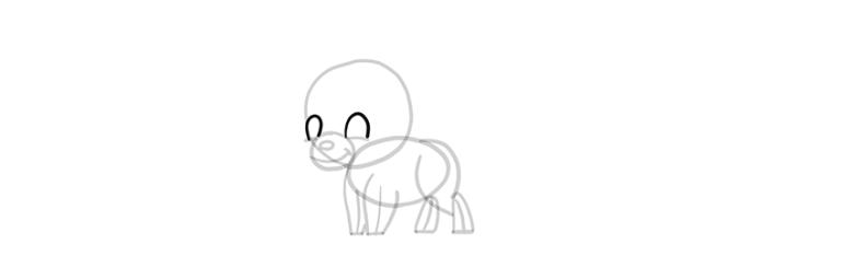 chibi wolf eyes