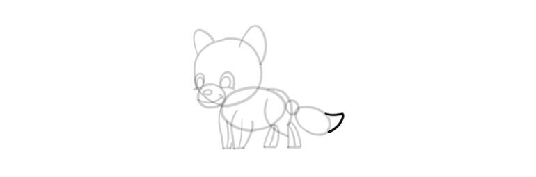 chibi wolf tip