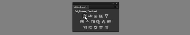 photoshop brightness contrast adjustment