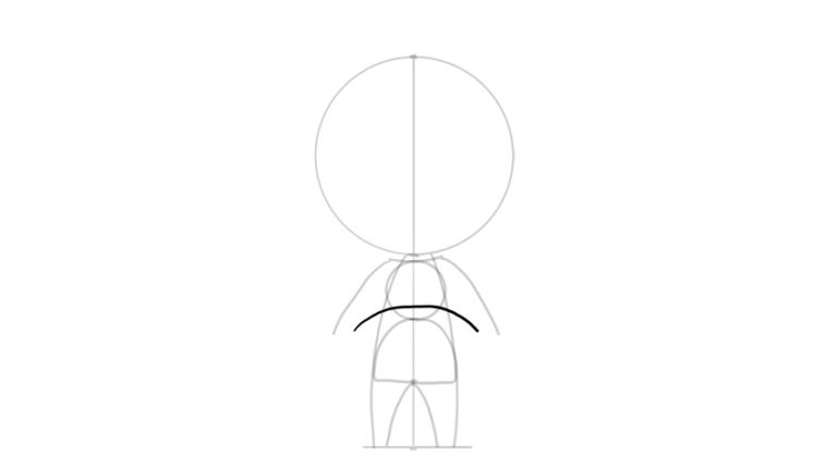 drawing chibi full arms