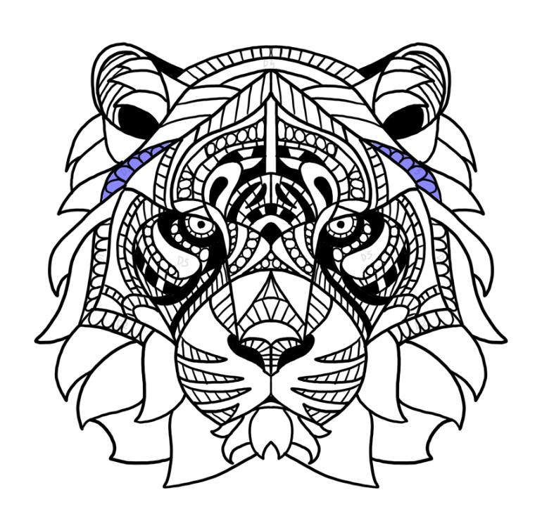 high mane pattern