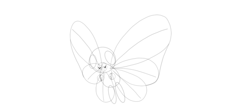 draw fangs of butterfree