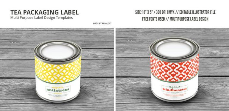 tin label