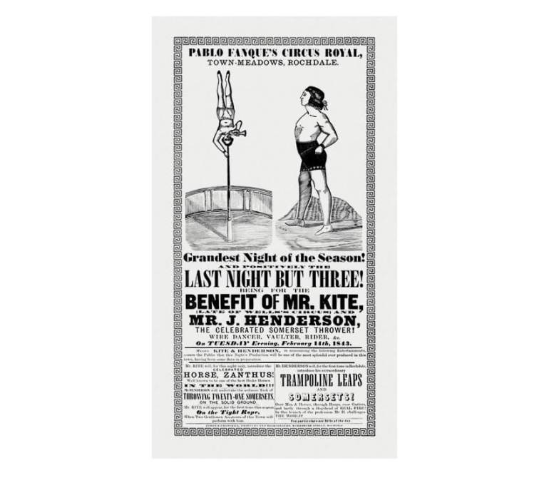 victorian poster