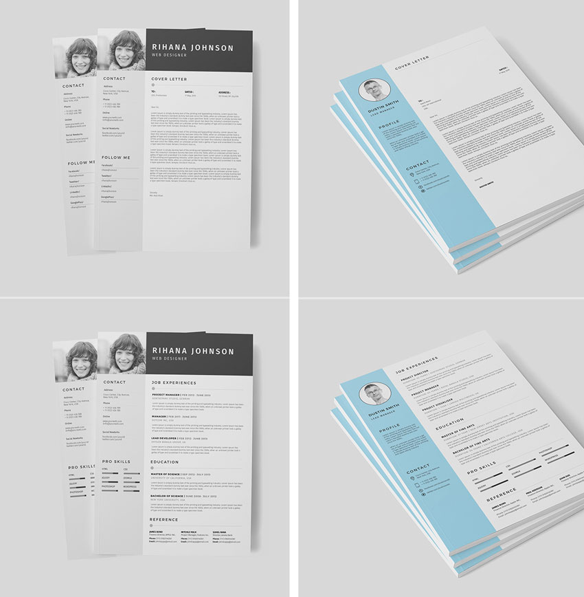 black and white photo template 39 simple logo