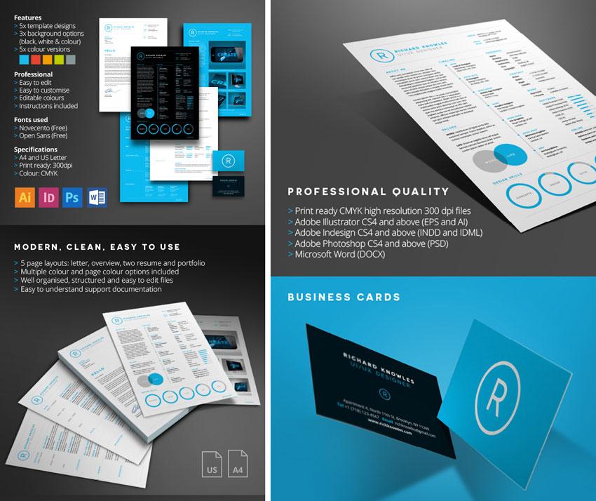 50 professional cv templates