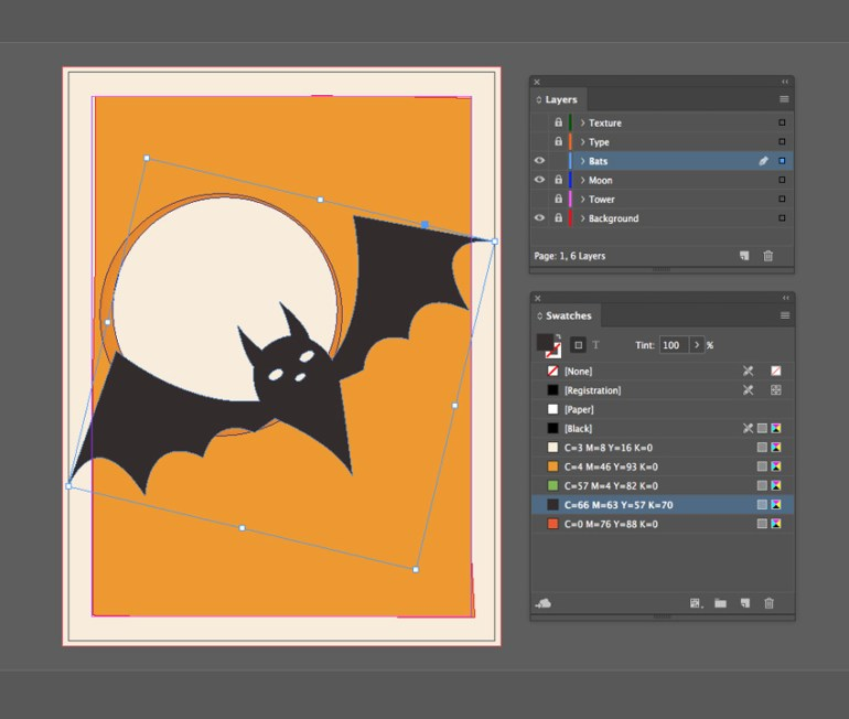 pasted bat
