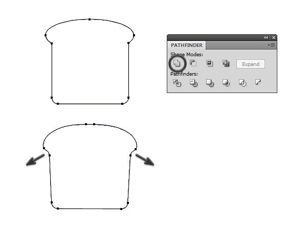 create vector toast icon 2