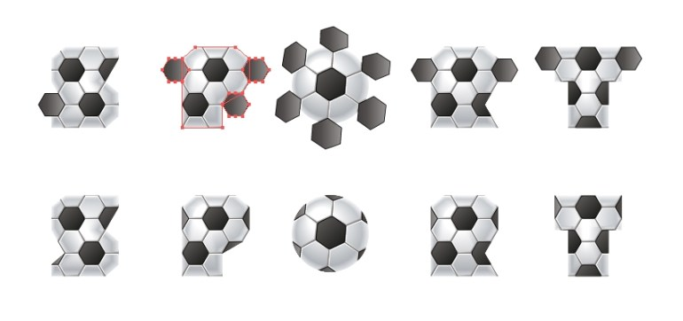 mask new small hexagons