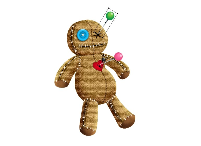 poke more needles into the voodoo doll