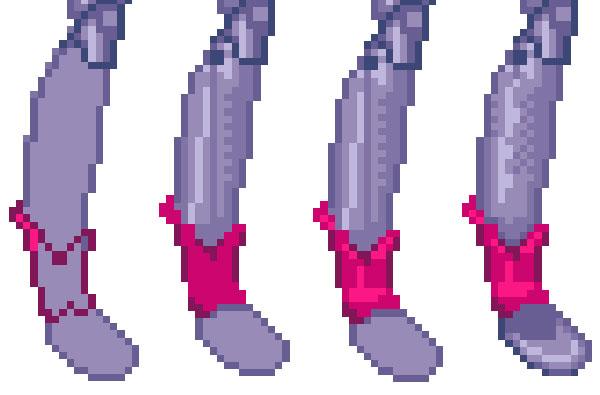 calves