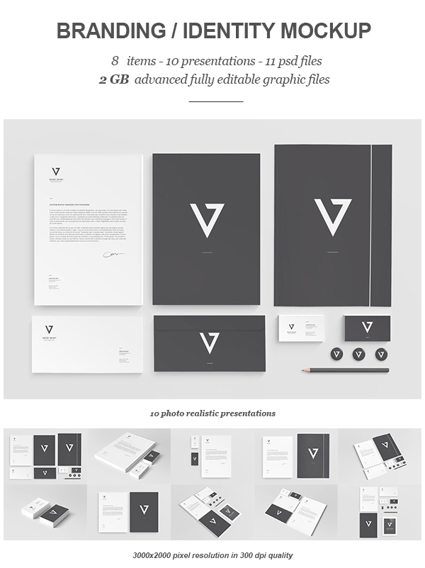Branding  Identity Mock-up II