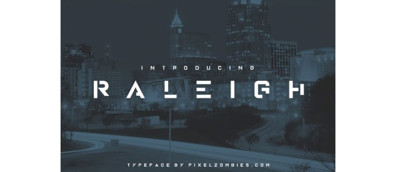 Raleigh Font
