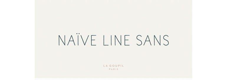 Naive Line Sans Font Family