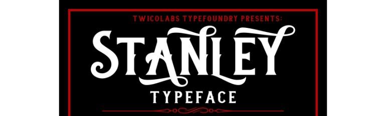 Stanley Typeface
