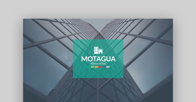 Motagua powerpoint presentation template design