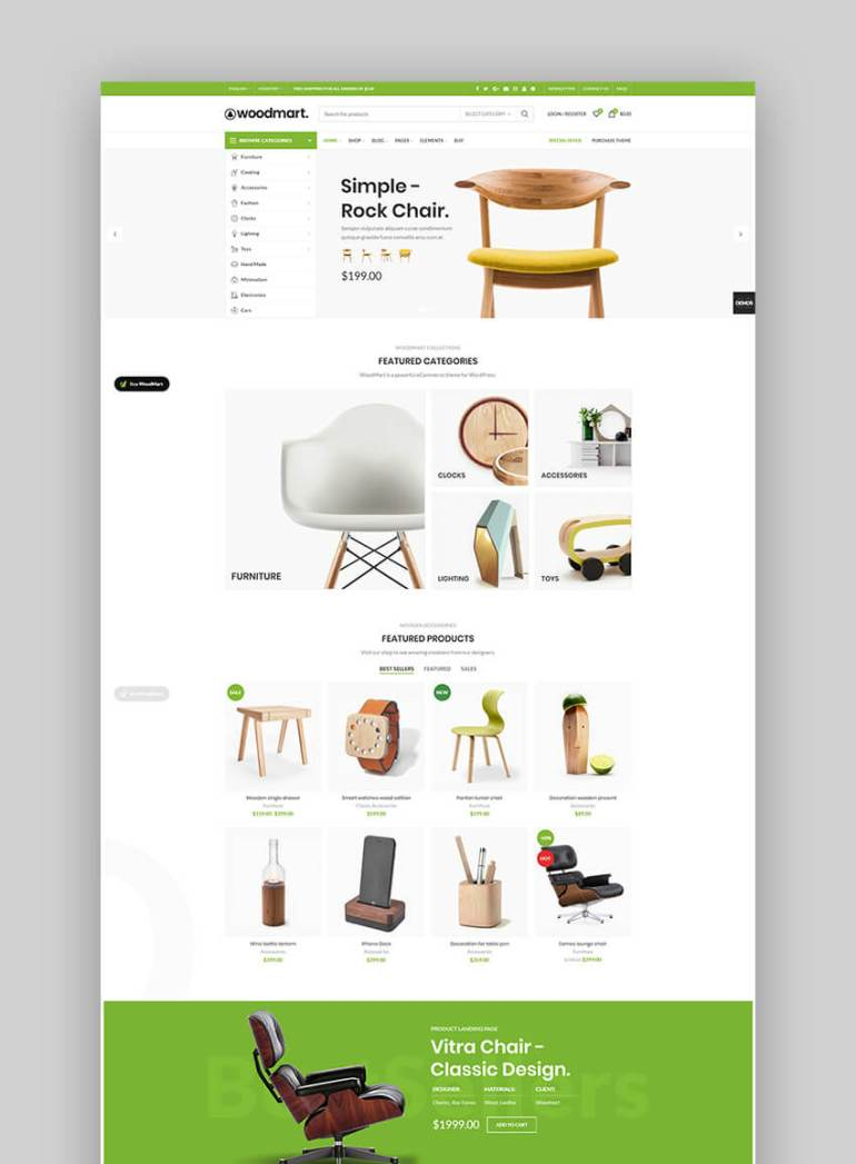 Woodmart eCommerce theme