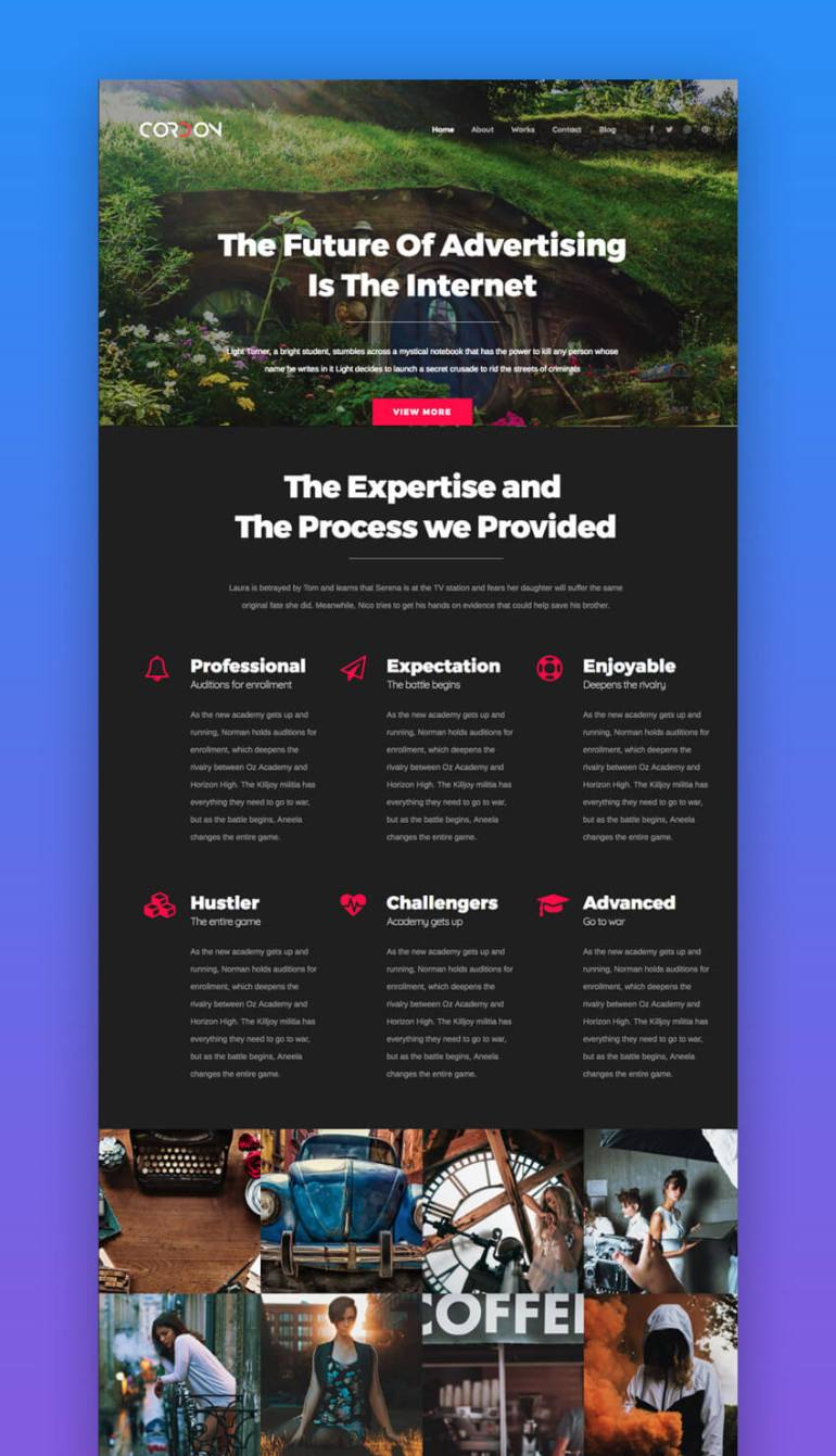 Cordon WordPress theme