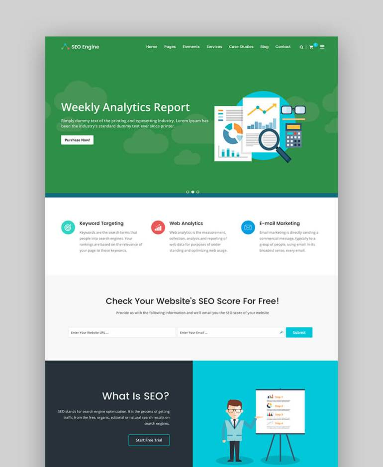 SEO Engine WordPress theme